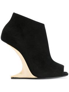 ботинки на скульптурном каблуке Giuseppe Zanotti Design
