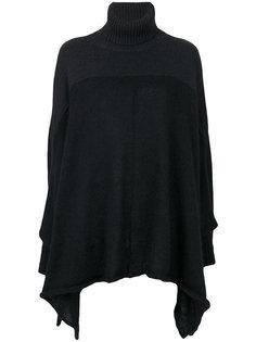 драпированный свитер с контрастными панелями Lost & Found Rooms