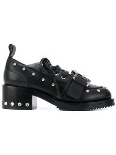 ботинки на платформе с заклепками Nº21