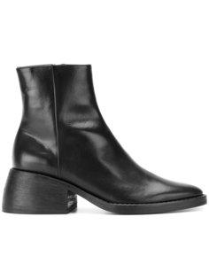ботинки на массивном каблуке Joseph