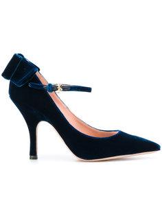 туфли-лодочки на шпильке с бантом Rochas