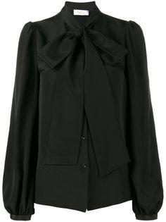 блузка с воротником-стойкой с бантом Racil