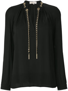 блузка с цепочкой  Michael Michael Kors