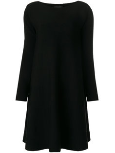 платье с вырезом лодочкой  Roberto Collina