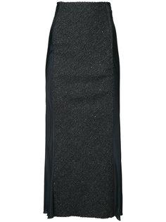 облегающая юбка с расклешенным подолом Comme Des Garçons