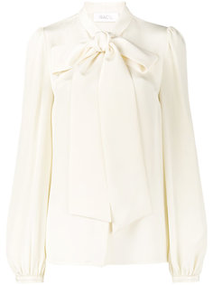 блузка с воротником-шарфом  Racil
