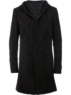 мешковатое пальто с капюшоном Masnada