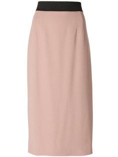 юбка с завышенной талией  Dolce & Gabbana