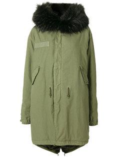 пальто-парка с мехом на капюшоне Mr & Mrs Italy