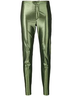 брюки скинни с блестящим эффектом Gevada Isabel Marant