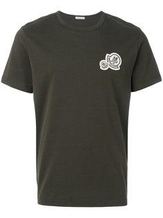 футболка с принтом логотипа Moncler