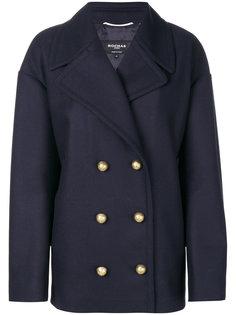 двубортное пальто Rochas