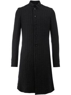 классическое однобортное пальто Masnada