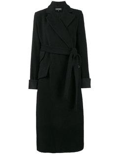 асимметричное пальто с поясом Mulligan  Ann Demeulemeester