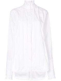 классическая плиссированная рубашка  Ellery