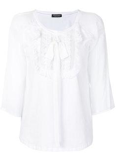 приталенная блузка с вышивкой Twin-Set