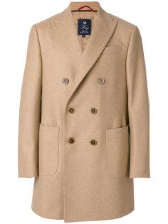 двубортное пальто Fay