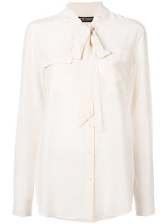 блузка с завязками на шее Twin-Set