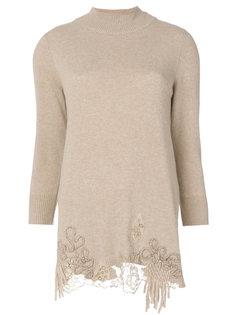 свитер с вышивкой  Blumarine