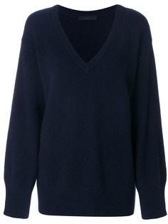свободный свитер с V-образным вырезом  The Row