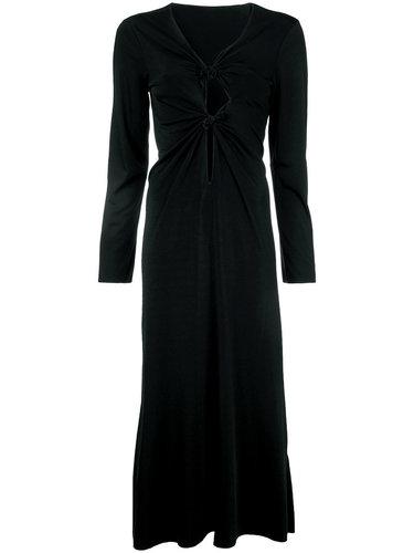 платье миди с узлами Comme Des Garçons