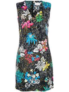 мини-платье с цветочным принтом Peter Pilotto