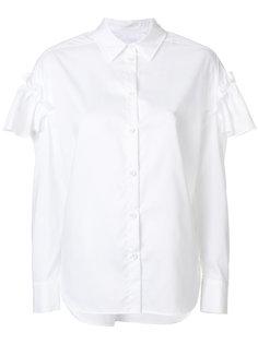 блузка с оборками на рукавах Sjyp