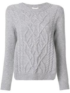 трикотажный свитер Semicouture