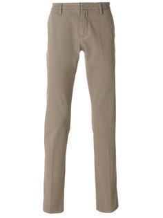 брюки кроя слим Dondup
