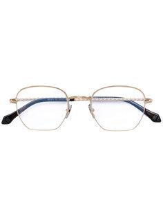 очки с круглой оправой Brioni