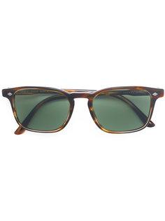 солнцезащитные очки с D-образной оправой Giorgio Armani