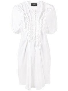 платье-футболка с оборками  Simone Rocha