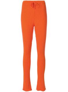ребристые брюки скинни Marquesalmeida