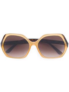 солнцезащитные очки с квадратной оправой Giorgio Armani