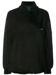асимметричное пальто с подкладкой  Drome