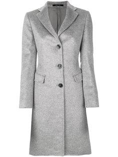 классическое приталенное пальто Tagliatore