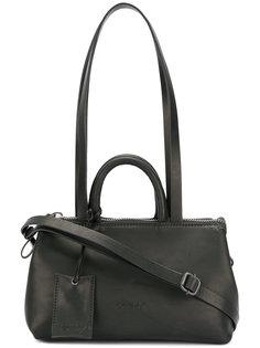 сумка на плечо с багажной биркой Marsèll