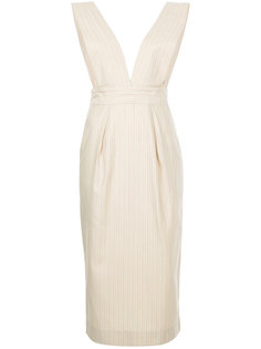 платье миди с V-образным вырезом  Cityshop