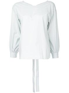 рубашка с бантом на спине Cityshop