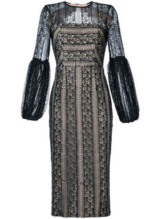 Lou Lou lace gather sleeve dress Rebecca Vallance