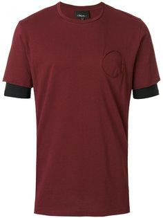 футболка с двухслойными рукавами 3.1 Phillip Lim