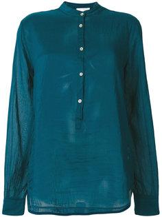 прозрачная рубашка с воротником-мандарин Forte Forte