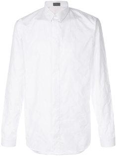 рубашка с вышивкой Dior Homme