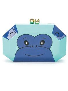 эмалированный клатч Monkey Serpui