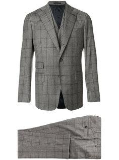 клетчатый костюмный пиджак Gabriele Pasini