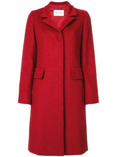 пальто с накладными карманами Max Mara