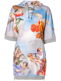платье-толстовка с принтом в стиле ренессанса Moschino