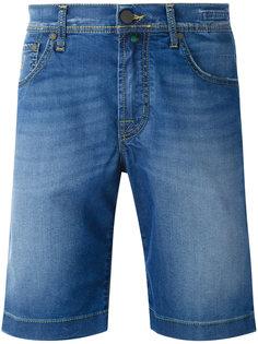 джинсовые шорты с потертостями Jacob Cohen