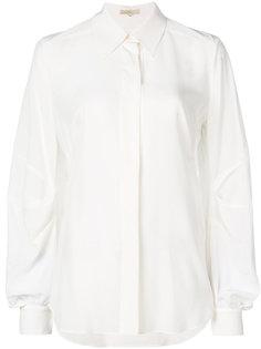 рубашка с драпировкой  Mantu