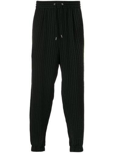брюки в полоску McQ Alexander McQueen